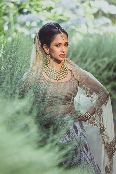 Neetal & Saumil's Intimate, Chic Indian Wedding {California} - TheBigFatIndianWedding.com
