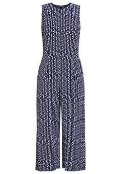 Jumpsuit - navy Jumpsuit, Navy, Pants, Dresses, Fashion, Overalls, Trouser Pants, Monkeys, Gowns