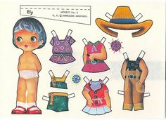Vintage Paper Dolls, Paper Models, Great Memories, Old Toys, Origami, Diy And Crafts, Scrap, Disney Characters, Fun