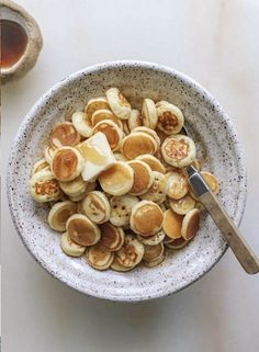 Think Food, I Love Food, Good Food, Yummy Food, Tasty, Pancakes For Dinner, Mini Pancakes, Food Goals, Cafe Food