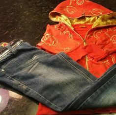 LITTLE LADY'S Apple Botton Jeans & AB Zip Hoodie HAILEY'S CLOSET  APPLE BOTTOM Bling Jeans Size 10, APPLE BOTTOM Zip Hoodie 3 1/4 Sleeves Size M 7 for all Mankind Jeans Skinny