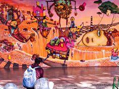 The Colorful Street Art of São Paulo, Brazil
