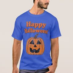 Vintage Happy Halloween Jackolantern T-Shirt - vintage gifts retro ideas cyo