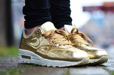 WMNS Air Max 1 SP Liquid Gold 616170 700 Restocks