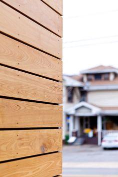 Cypress Rainscreen   Dough Market, Asheville NC, Form & Function Architects