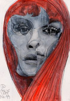 Project Showcase - Broken 1000 Faces by Takahiro Kimura Japanese Artists, Artsy Fartsy, Illustrators, Drawings, Faces, Projects, Pictures, Image, Portraits