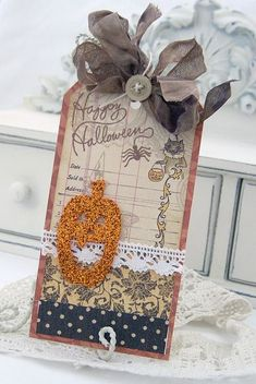 magnificent card2 by Melissa Phillips via her blog lilybeanpaperie