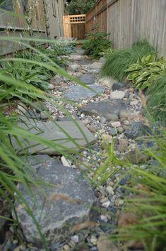 Dry Stream Side Garden