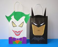 Hey, I found this really awesome Etsy listing at https://www.etsy.com/listing/474527973/printable-batman-joker-party-favor-bags