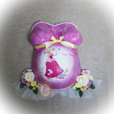 Belly Cast Decorating, Belly Casting, Snow Globes, Pregnancy, It Cast, Pink, Memories, Pregnancy Planning Resources, Pink Hair