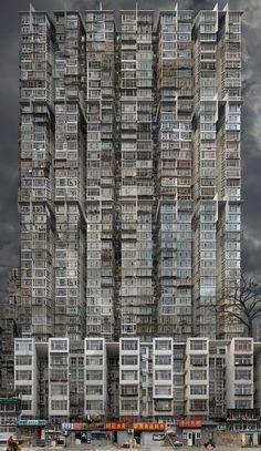 Beijing babel 2, 2012100x172cm