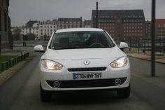 2009 Renault Fluence Z.E.  Production Electric Car. Swappable Battery Pack.  Made in France. Available in Europe for €26,300 plus €79  for battery lease.
