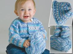 An easy baby set in sizes NB to 12 months using DK weight yarn Happy Birthday Song Youtube, Birthday Songs, Baby Patterns, Stitch Patterns, Knitting Patterns, Baby Knitting, Crochet Baby, Knit Crochet, Baby Bootees