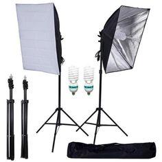 Photo Equipment, Photography Equipment, Softbox Lighting, Photo Studio Lighting, Continuous Lighting, Umbrella Lights, White Light Bulbs, Spiral Shape, Light Photography