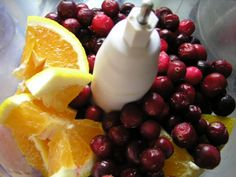 Raw Orange Cranberry Sauce - no more canned cranberry sauce in my house