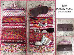 DIY modèle de patron PDF GRATUIT de trousse facile à coudre même pour débutantes, vanity, trousse de voyage, toilette, maquillage, médicaments, pochette pour femme, homme, enfant et bébé, idée de cadeau à coudre. Couture Sewing, Sewing Kit, Travel Kits, Sewing Projects, Sewing Patterns, Pouch, Vanity, Kids Rugs, Crochet
