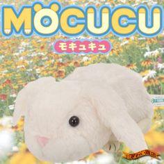 Mocucu Cute Mouth Movable Plush Doll Gadget (White Rabbit) - Hamee.com