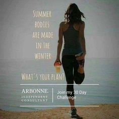 Because of Arbonne's 30 Days to Healthy Living Program, I sleep better, have clearer skin, have more energy and have lost weight. I have learned to eat healthy. I have the knowledge to help people do the same. This program can help you lose weight and inches, gain energy, decrease join pain and inflammation. Meal plans, recipes & support. What do you have to lose? http://maryjojaeger.arbonne.com