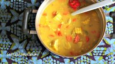 Jamaican Corn Soup: Whether it's red peas, chicken or beef, Jamaicans love their soup on a Saturday. I don't know if it's because I grew up in a Jamaican Jamaican Soup, Jamaican Dishes, Jamaican Recipes, Jamaican Rasta, Jamaican Cuisine, Cuban Dishes, Corn Soup Recipes, Vegetarian Recipes, Cooking Recipes