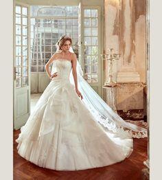Vestidos de novia palabra de honor 2017: ¡El diseño más deseado! Image: 12