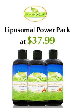 You can purchase Liposomal Powder Pack at $37.99 from Absorb Health store. This offer is currently activated on the site. For more Absorb Health Coupon Codes visit: http://www.couponcutcode.com/stores/absorb-health/