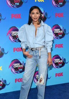 Naya Rivera I think she looked so pretty at the Teen Choice Awards!!!❤️