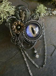 Twisted Sister Arts #Steampunk #Jewelry  www.steampunktendencies.com