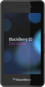 BlackBerry 10 Prototype