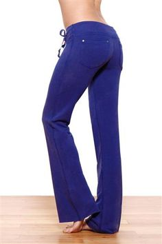 "33"" Jean Style Lounge Fit Bluebird Blue Yoga Pants by Green Apple ..."