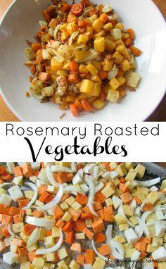 Rosemary Roasted Veg