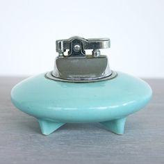 Vintage Ceramic Cigarette Lighter | dotandbo.com