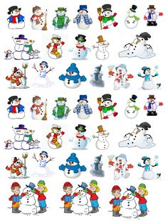 les gommettes Creations, Snoopy, Memories, Stickers, Fictional Characters, Winter Time, Snowman, Winter, Children