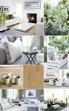 LIVING NEUTRALS | Decorating in neutrals is beautiful but can also be hard to achieve. When working with neutral colors (gray, brown, white, beige), it is important to add plenty of living plants for a space to be balanced and not feel too flat.