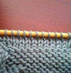 TEJIENDO A DOS AGUJAS: Como tejer cuellos impecables Knitting Basics, Crochet, My Style, Blog, Handmade, Accessories, Round Collar, Smocking, Tejidos