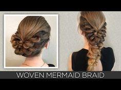Woven Mermaid Braid - YouTube