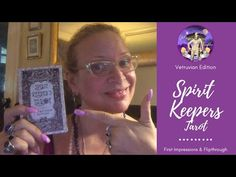 Spirit Keepers Tarot Vetruvian Edition: First Impressions & Walkthrough Tarot Reading, Free Ebooks, Indie, Daughter, Spirit, Social Media, Watch, Videos, Youtube