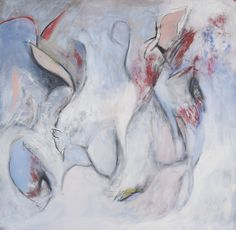 Katherine Aimone, Spring Dream 2, 2011, 36 x 36 in., acrylic on paper