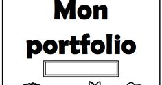 Un peu d'aide pour vos portfolios. French Resources, Bulletins, Oui, Organization, School Stuff, Interior Design, Back To School, Index Cards, Organisation