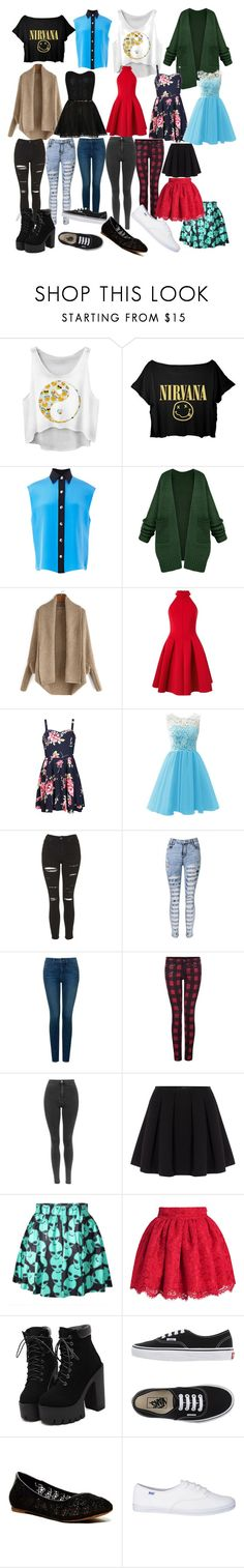 """Untitled #423"" by oreo-demon ❤ liked on Polyvore featuring FAUSTO PUGLISI, Miss Selfridge, Ally Fashion, Topshop, NYDJ, Dex, Polo Ralph Lauren, Vans and Lucky Brand"