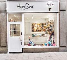 Simply white - shop front.