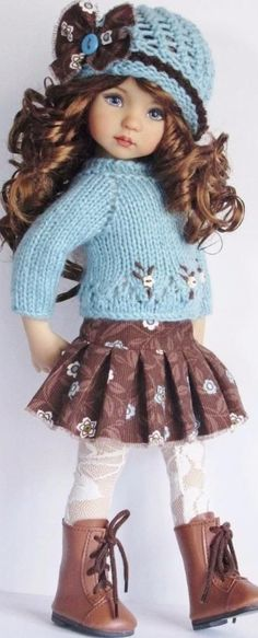 Sweater outfit and skirt idea