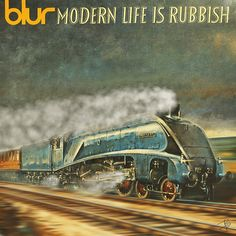 [GIF Versions Of Album Covers Update Rock Classics] Blur - Modern Life is Rubbish Famous Album Covers, Classic Album Covers, Music Album Covers, Cool Animated Gifs, Cool Animations, Dream Theater, Pink Floyd, Cover Art, Cd Cover