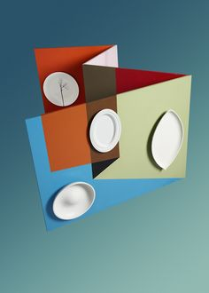 plates / graphical / colour blocking