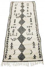 Marokkolainen Kilim matto Beni Ouarain 315 x 130 cm