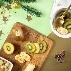 Instant Detox - Du kiwi Zespri Green pour reprendre des forces, du kiwi Zespri SunGold pour beaucoup de douceur et de vitamines, et un peu de banane en accompagnement ! C'est Bon, Hummus, Ethnic Recipes, Side Dishes, Vitamin E, Banana, Recipe, Gentleness