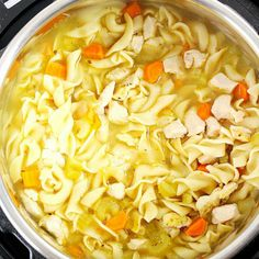 Instant Pot Chicken Noodle Soup recipe Instant Pot Chicken Noodle Soup – fastest and easiest way to make a big pot of chicken noodle soup right in your electric pressure cooker! It's the perfect comfort food that the whole family will love. Instant Pot Chicken Noodle Soup Recipe, Chicken Recipes, Instapot Chicken Soup, Recipe Chicken, Best Instant Pot Recipe, Instant Pot Dinner Recipes, Recipes Dinner, Instant Pot Pressure Cooker, Pressure Cooker Chicken Soup