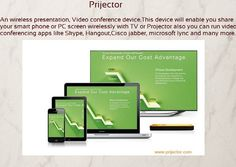 The world's best selling Wireless Presentation Device. It's Everything you'd want in a Conference Room & Class Room. #technology #coolgadgets #wireless #office #conferenceroom #meeting #android #windows #mac #ios #prijector www.prijector.com