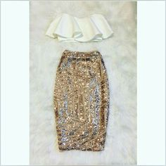 Super cute, fun new years outfit! More