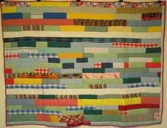 gees bend_patchwork_strips_in_line quilt