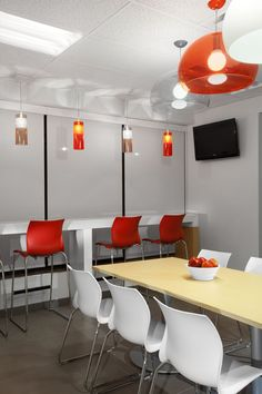SSDG Interiors Inc. | workplace hi-tech: Marketing Company Lunch Room, Workplace, Vancouver, Tech, Rooms, Interiors, Marketing, Interior Design, Casual